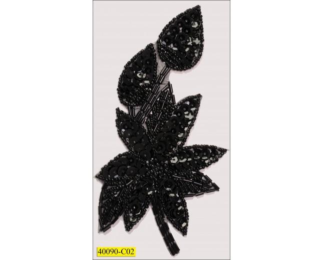 8x12cm black