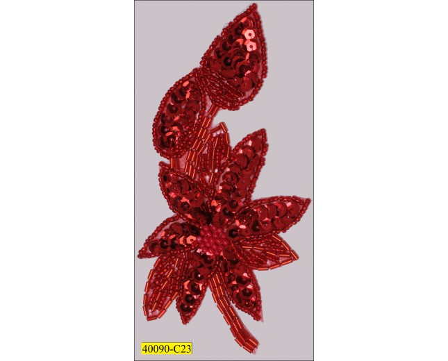 8x12cm red