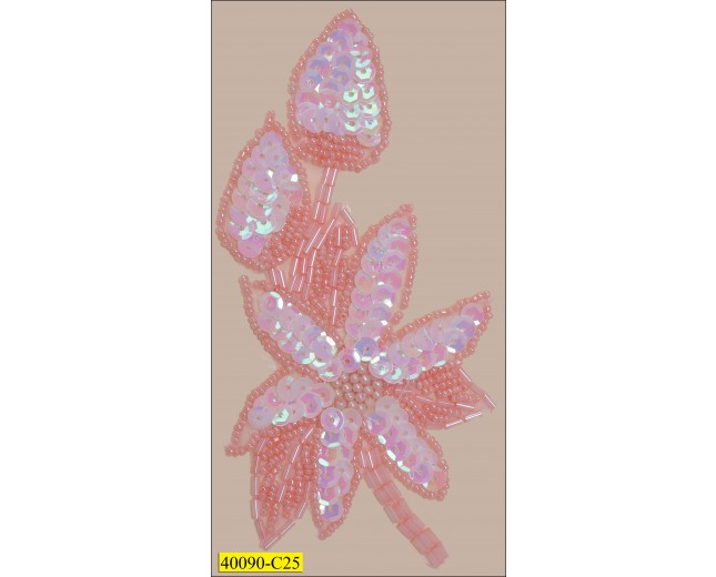 8x12cm pink clear