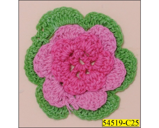 fuchsia/pink/green