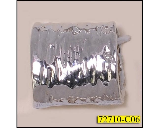 """Attachment Metal Tube 1/2"""" x 1/2"""" Silver"""
