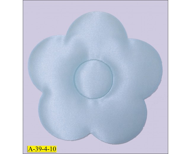 Light Blue Puffy Flower