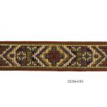 1 1/8'' Geometric Tapestry Multicolor