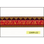 """1"""" Fringe in Middle Woven Tape"""