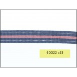 "Grosgrain 3/4"" with Center stripe"