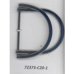 Att Metal double D Ring Buckle I/D 1 3/4Gunmetal