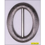 Buckle Oval Inner Diamter 2""