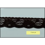 """Elastic Scalloped Floral Lace 1 1/2"""""""