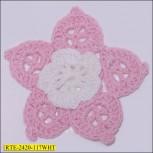 """2 """" Crochet flower"""